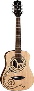Luna Safari Series Peace Travel-Size Dreadnought Acoustic Guitar