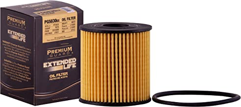 PG PG5830EX EXtended Performance Oil Filter|Fits 2007-14 Ford Transit, 2007-15 Mini Cooper, 2011-16 Cooper Countryman, 2013-16 Cooper Paceman, 2003-09 Peugeot 206, 2008-14 207, 2003-08 307