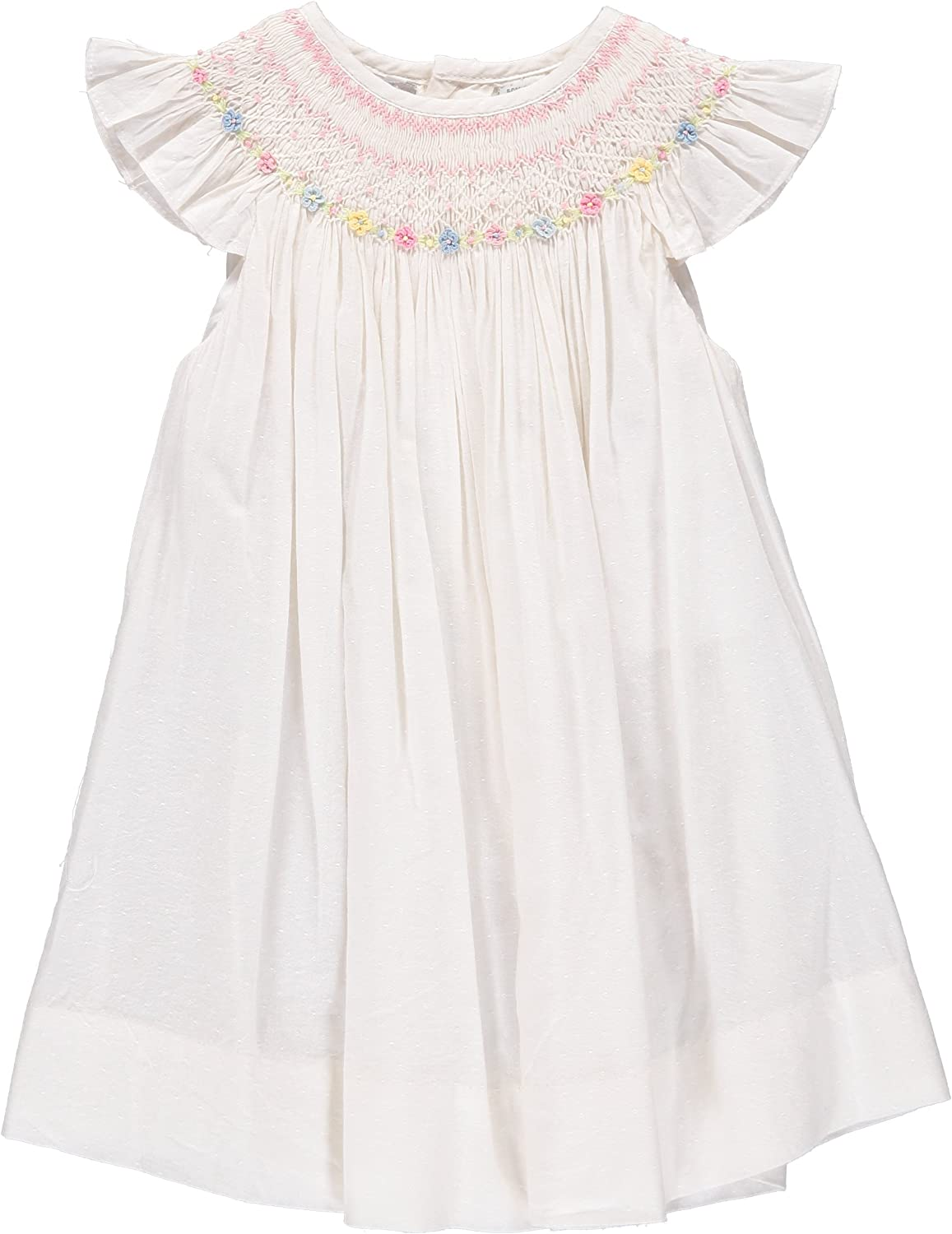 Carriage Boutique Super beauty Overseas parallel import regular item product restock quality top Baby Girl Dress White Bishop