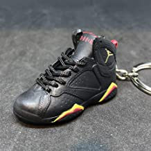 Air Jordan VII 7 Retro Citrus Black Red OG Sneakers Shoes 3D Keychain Figure