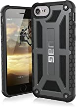 UAG iPhone 8 / iPhone 7 / iPhone 6s [4.7-inch screen] Monarch Feather-Light Rugged [GRAPHITE] Military Drop Tested iPhone Case