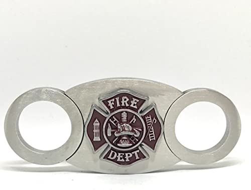 Fireman's Cigar Cutter – Double Guillotine Blades – in Gift Box