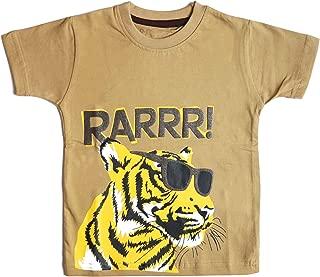 kid studio Kids Tshirt for Boys Cotton Short/Half Sleeve Graphic Printed Tee, 1-7 Years