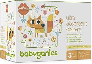 Best babyganics diapers size 3 Reviews
