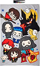 Harry Potter Official Charm Fleece Blanket Throw Character Design Super Soft Blanket Perfect for Any Bedroom 59 x 39