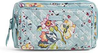 Vera Bradley Women's Signature Cotton Deluxe All Together Crossbody Purse with RFID Protection