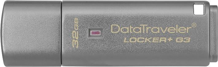 Kingston DTLPG3/32GB Data Traveler Locker + G3 - Memoria USB 3.0 (protección de Datos personales, Copia de Seguridad automática en la Nube)