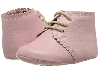 Elephantito Scalloped Bootie (Infant/Toddler) (Pink) Girls Shoes