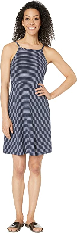 Deep Navy Mini Stripe