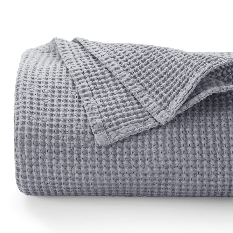 Bedsure 100 Cotton Blanket Stone Washed