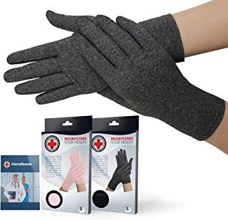 Dr. Arthritis – Arthrose Handschuhe inkl. Handbuch vom Arzt –..