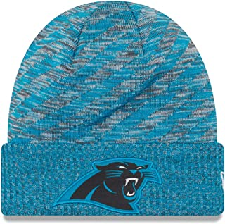 New Era Carolina Panthers Beanie NFL 2018 On Field TD Knit Cap Panther Blue Adult One Size