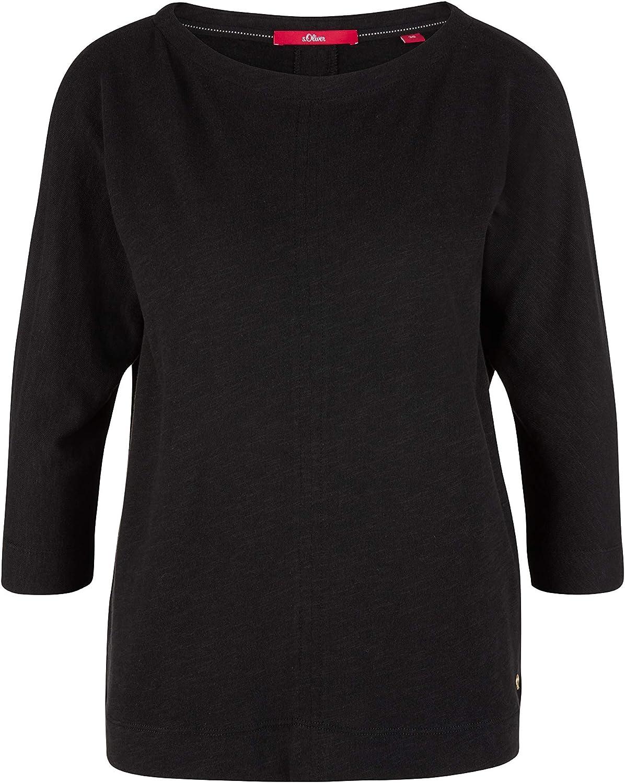 s.Oliver Damen T-Shirt 3//4 Arm