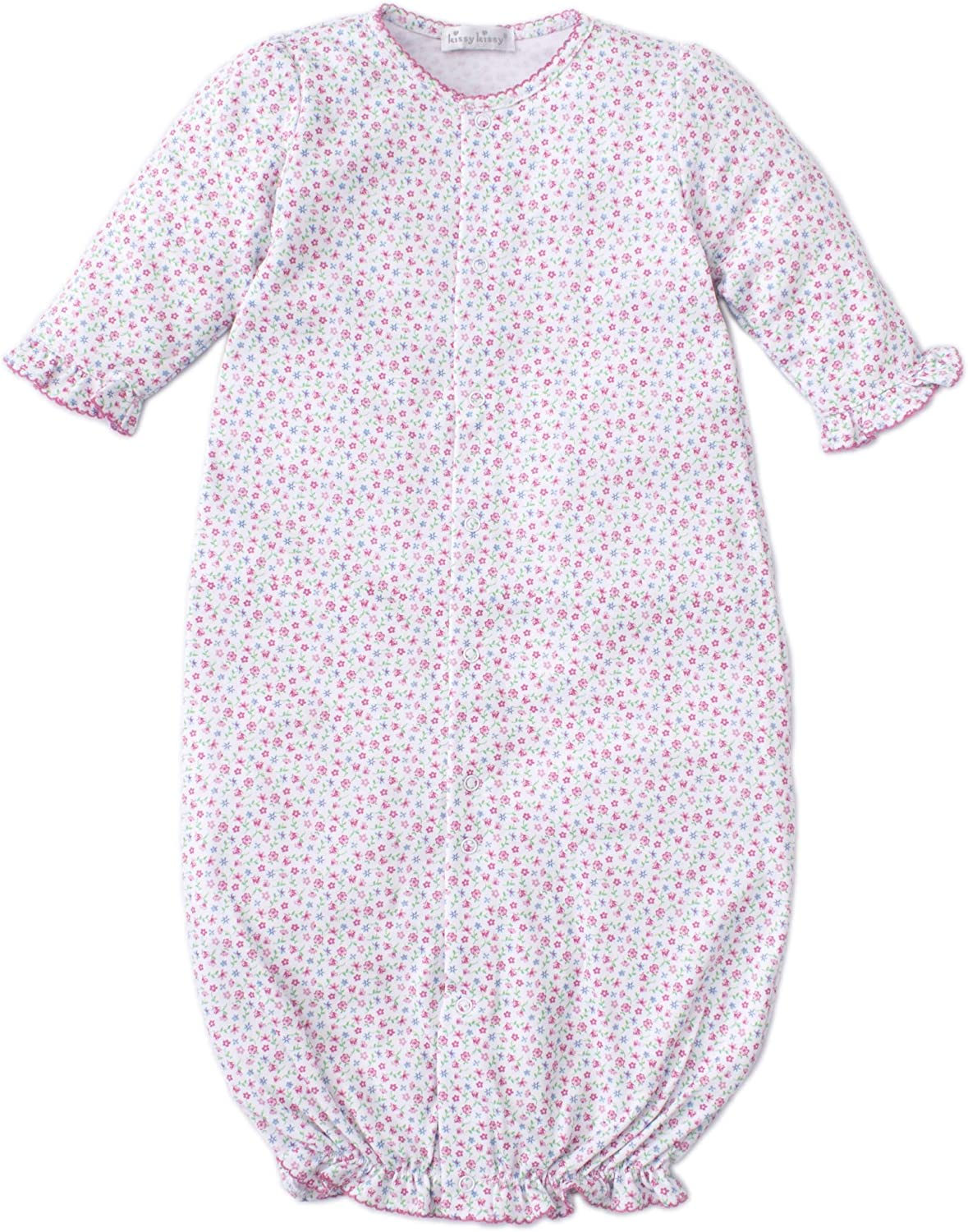 Kissy Kissy Baby-Girls Infant Flowering Flamingos Convertible Gown