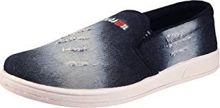 Action Synergy Men's Casual Loafers Nm017 Blue