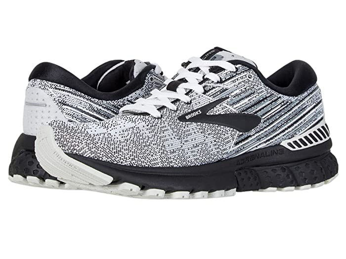Brooks Adrenaline GTS 19 (White/Black/Grey) Women's Running Shoes