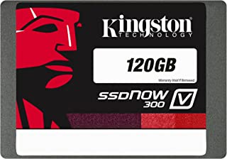 Kingston Digital 120GB SSDNow V300 SATA 3 2.5 (7mm height) Solid State Drive (SV300S37A/120G)