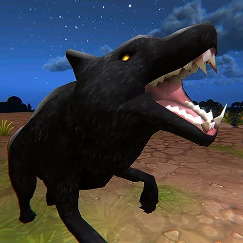 Wild Wolf Jungle Rampage Sim 3D