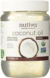Nutiva Organic Coconut Oil 858g