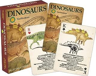 Aquarius Smithsonian Dinosaur Playing Cards