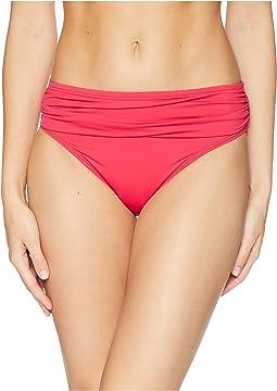 Pearl High-Waist Hipster Bikini Bottom