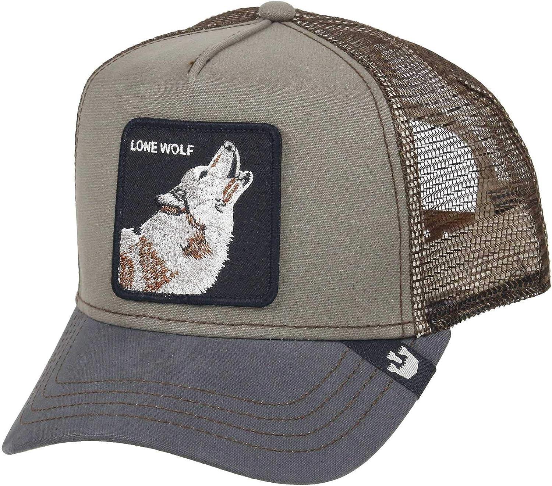 Goorin Bros. Trucker Cap Lone Wolf Olive - One-Size