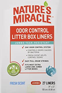Nature's Miracle Odor Control Jumbo Litter Box Liners