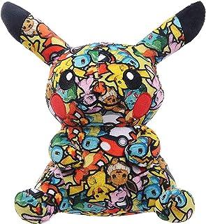 Pikachu Plush Toy .Pika Plush Stuffed Animal Cartoon Anime Stuffed Doll Animal Toy Cloth Print Pillow.