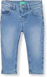 United Colors of Benetton Jeans voor kinderen. - blauw - 82