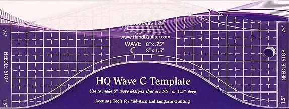 Hq Wave C Longarm Template