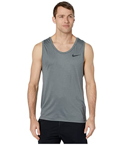 Nike Top Tank Hyper Dry (Black/Smoke Grey/Heather/Black) Men