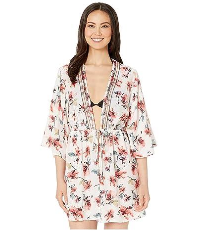 Lucky Brand Cordevalle Kimono Cover-Up (Multi) Women