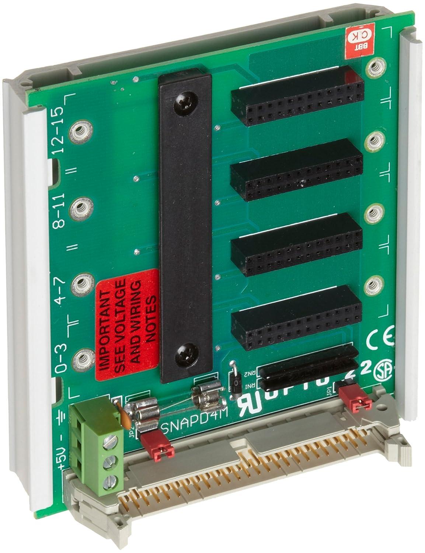 Opto 22 SNAP-D4M Atlanta Mall Credence Snap D-Series 4 Rack Module