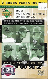 2007 upper deck future stars baseball