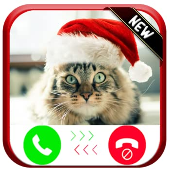 Christmas Cat Calling You - Free Fake Phone Calls And Fake Text Message ID PRO 2020 - PRANK FOR KIDS