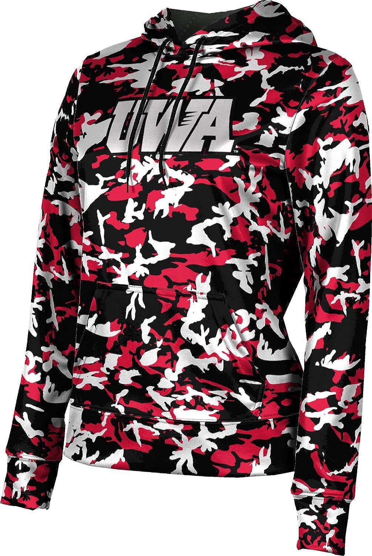 ProSphere University of West Alabama Girls' Pullover Hoodie, School Spirit Sweatshirt (Camo)