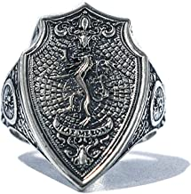 Lannister Ring - Game of Thrones House Lannister, Hear Me Roar Ring A Song of Ice and Fire in 925 Sterling Silver