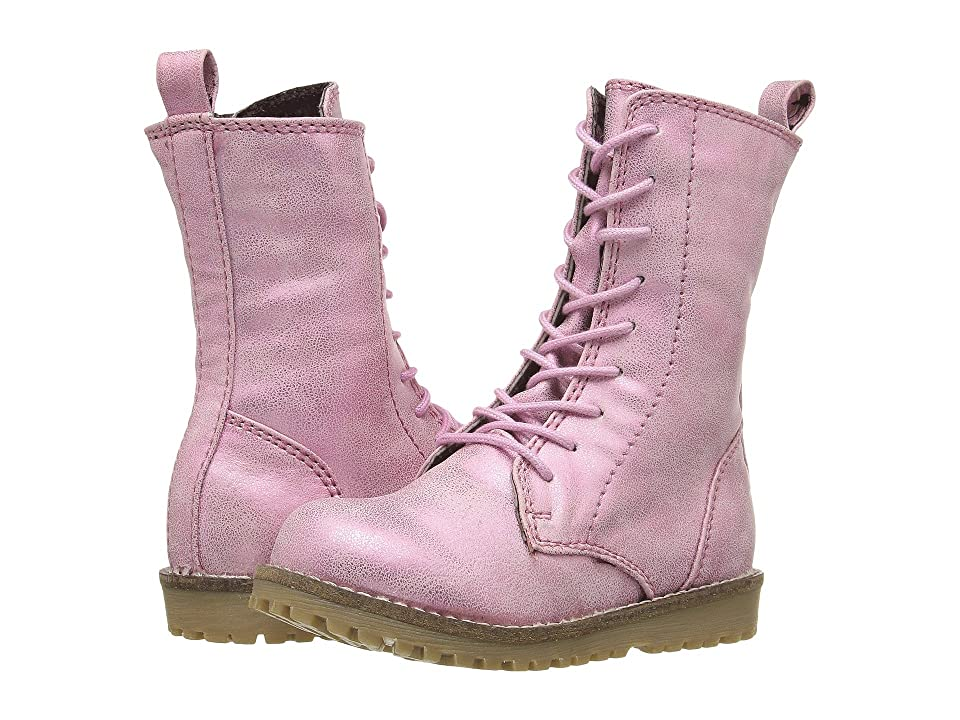 Pazitos Prairie Boot PU (Toddler/Little Kid) (Pink) Girls Shoes