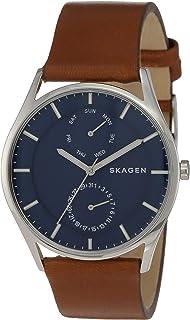 SKAGEN Men's SKW6449 Year-Round Analog-Digital Quartz Brown Band Watch