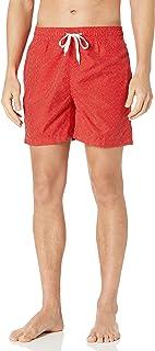 سروال سباحة رجالي Montague من Kanu Surf باللون الأحمر، مقاس متوسط