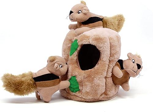 Outward-Hound-Kyjen-31003-Hide-A-Squirrel-Plüsch-Hundespielzeug