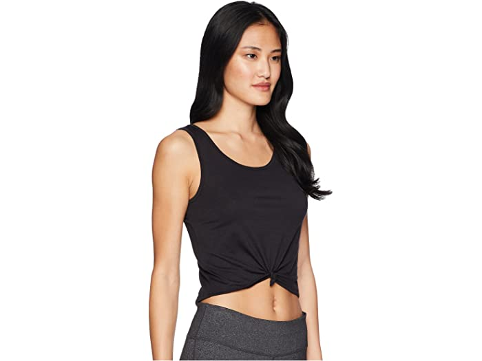 Onzie Knot Crop Top Womens Active Workout Yoga Tank