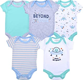 Contact 5-Pack Newborn Baby Boy Bodysuit Creepers