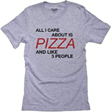 Hollywood Thread All I Care About is Pizza and Like Three People Men's T-Shirt
