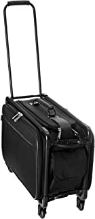 TUTTO 20 Inch Retulation Carry-On, Black, One Size