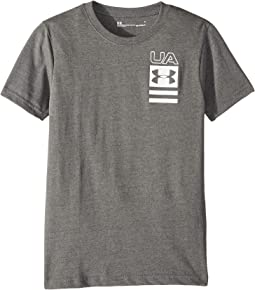 Vertical UA Tee (Little Kids/Big Kids)