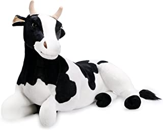 VIAHART Milhouse The Cow   2 1/2 Foot Long Big Stuffed Animal Plush   Shipping from Texas   by Tiger Tale Toys