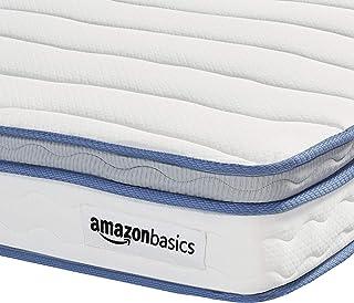 AmazonBasics Hybrid Mattress - Memory Foam With Strong Innerspring Support - Medium Feel - CertiPUR-US - 8-Inch, Queen