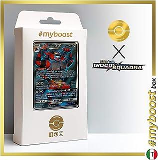 Incineroar-GX 167/181 Full Art - #myboost X Sole E Luna 9 Gioco di Squadra - Box of 10 Pokemon Italian Cards