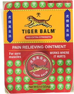 Tiger Balm Extra Strength, 0.14 oz